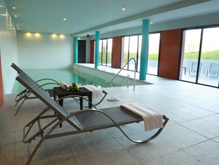 Indoor pool Regency Park Hotel en Montevideo