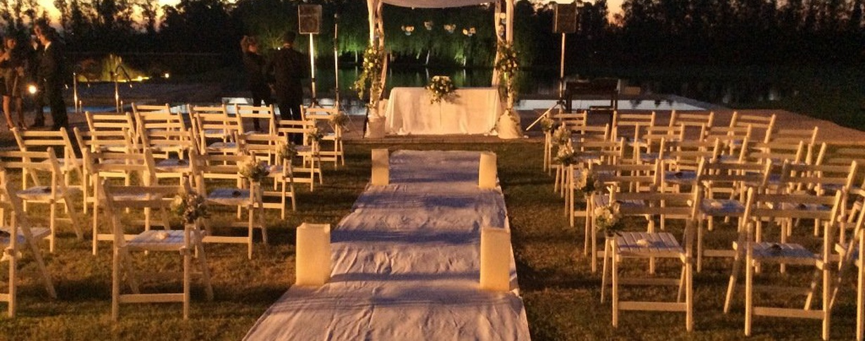 Outdoors weddings Regency Park Hotel + Spa en Montevideo