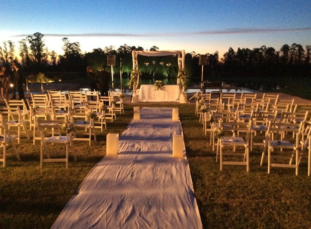 Outdoors weddings Regency Park Hotel en Montevideo