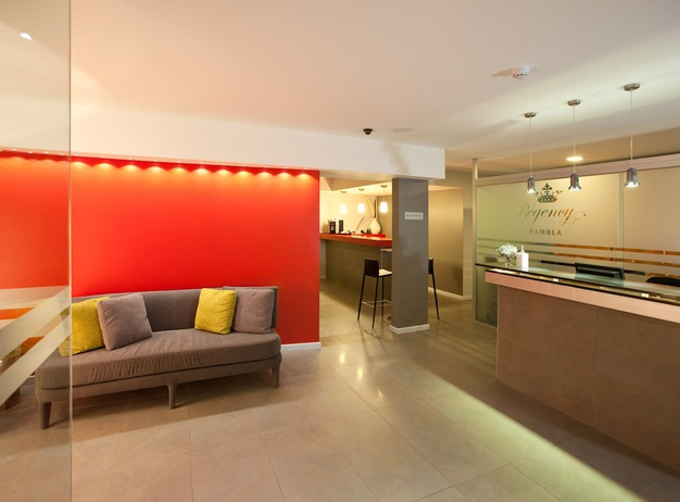 Reception Regency Rambla Design Apart Hotel en Montevideo