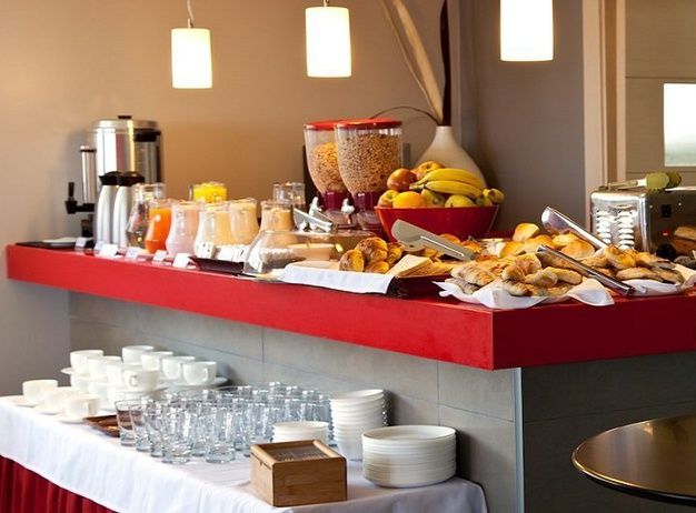 Breakfast Regency Rambla Design Apart Hotel en Montevideo