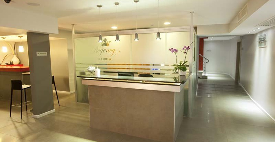 24 Hour Reception Regency Rambla Design Apart Hotel en Montevideo